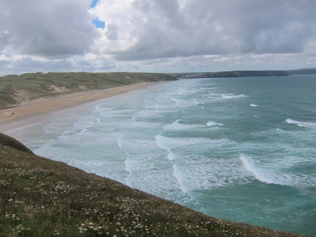 Day 76 – Perranporth to Newquay 13th July 2016