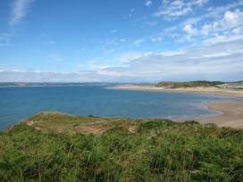 Llanmadoc beach and the Llwchwr estuary 24.7.18